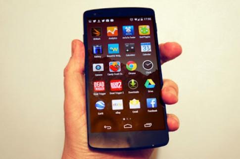 Bản cập nhật mới giúp cho Nexus 5 nhiều sức mạnh