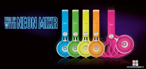 Bạn là DJ ? Hãy chọn ngay Beats Mixr Neon by Dre khỏi nghĩ