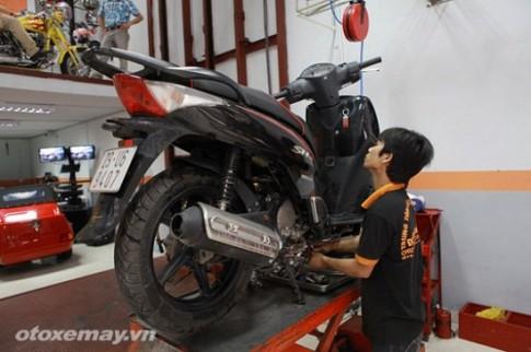 Bảo dưỡng động cơ xe máy trong mùa mưa