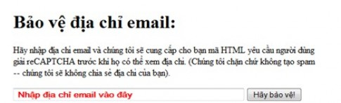 Bao ve dia chi email an toan truoc cac co may spam