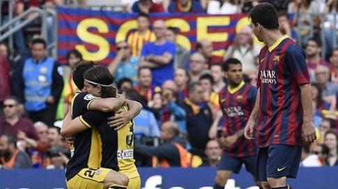 Barca 1-1 Atletico: Giấc mộng bá Vương thành hiện thực