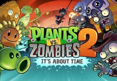 Bi kip choi game Plants vs Zombies 2 de dang qua level tren iOS