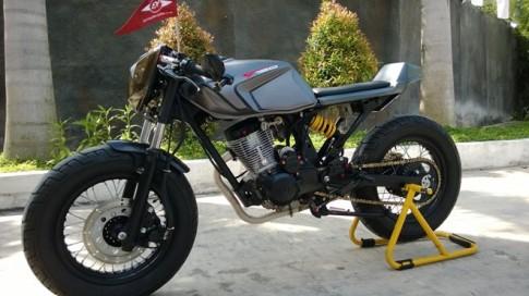 Bình Dương - Honda CD125 độ phong cách cafe racer đẹp