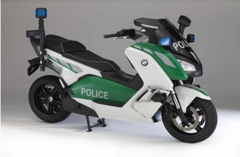 BMW C Evolution phiên bản Police