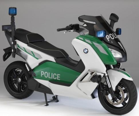 BMW giới thiệu loạt moto dành cho cảnh sát