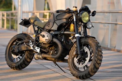 BMW R1200S cực ngầu với phong cách Cafe Racer
