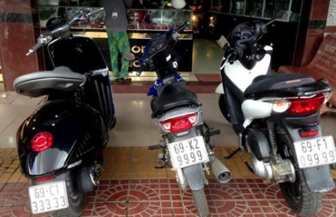 Bộ sưu tập xe ga biển số siêu khủng tại Việt Nam