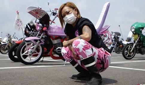 Bosozoku văn hóa môtô độ đường phố cùng phái đẹp Nhật