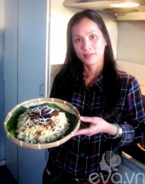 Bữa cơm Việt của người mẹ xa xứ