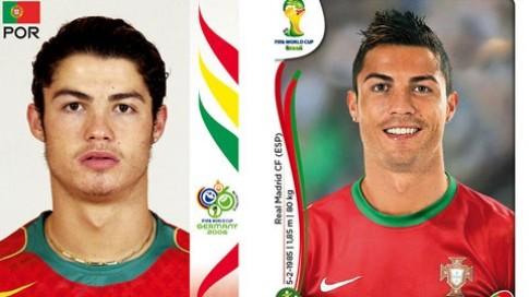 Các cầu thủ thay đổi thế nào từ World Cup 2006 tới World Cup 2014