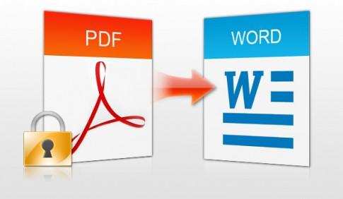 Cách chuyển đổi PDF sang Word Online không bị lỗi font chữ