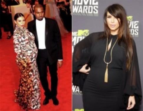Cách giảm cân nhanh và hiệu quà sau sinh của Kim Kardashian
