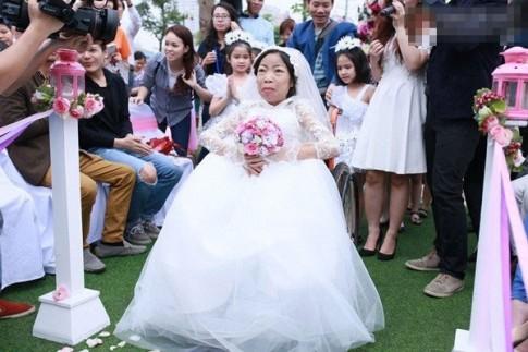Cảm động lễ cưới của cô dâu suy thận và chú rể kém tuổi