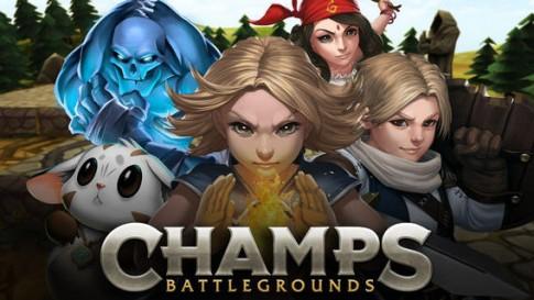 Champs: Battlegrounds - Chiến thuật thời gian thực trên iOS