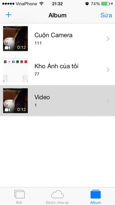 Chỉnh sửa video ngay trên iPhone/iPad