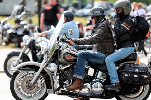 Choáng ngọp với ngày hội Harley-Davidson của người Đức