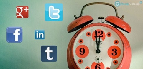 Chọn khung giờ thích hợp để câu like trên Social Network