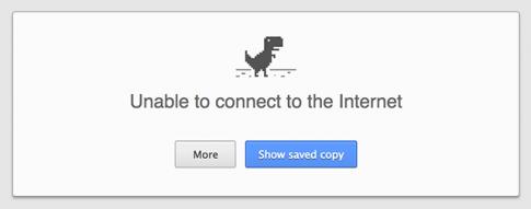 Chrome thử nghiệm tính năng duyệt lại web đã lưu không cần Internet