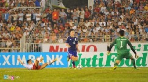 Chùm ảnh tử huyệt nơi hàng thủ U19 Việt Nam