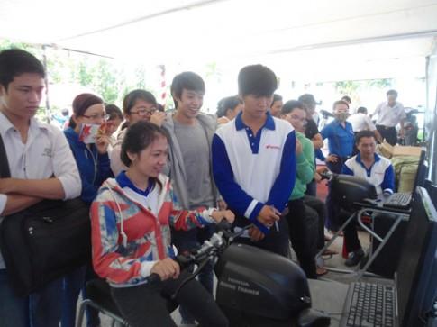 """Chương trình """"Lái xe an toàn cùng Honda Việt Nam"""""""