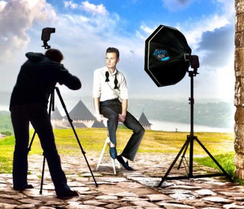 Chụp ảnh Studio với Dù và Hộp tản sáng (P.2)