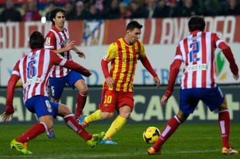[CK La Liga] Barca : Giải pháp hàng công không đặt ở Messi ?