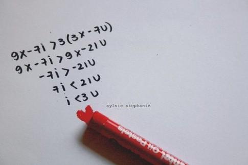 Con gái, con trai, chuyện tình yêu và toán học