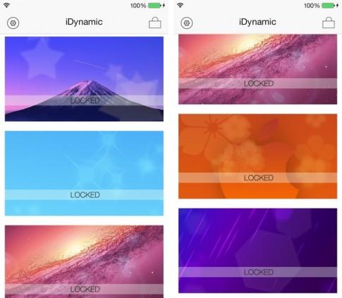 Cydia: iDynamic – thêm wallpaper động cho iOS 7