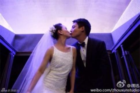 Dàn sao khủng tới dự đám cưới Châu Tấn