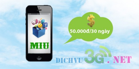 Đăng ký 3g Mobifone 50k