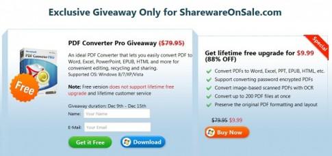 Dang ky ngay ban quyen phan mem Aimersoft PDF Converter Pro