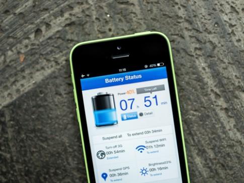 Đánh giá thời lượng pin của iPhone 5c