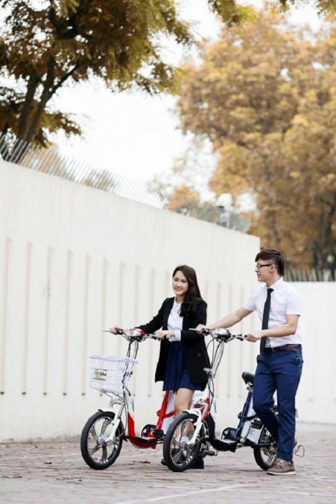 Để hình ảnh xe đạp điện và chủ nhân luôn đẹp trong mắt mọi người