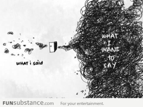 Diễn đạt cảm xúc khó đến như vậy sao?