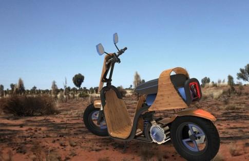 Dự án scooter làm bằng cây tre độc đáo của sinh viên