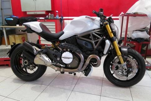 Ducati Monster 1200S đầu tiên vừa về đến Việt Nam