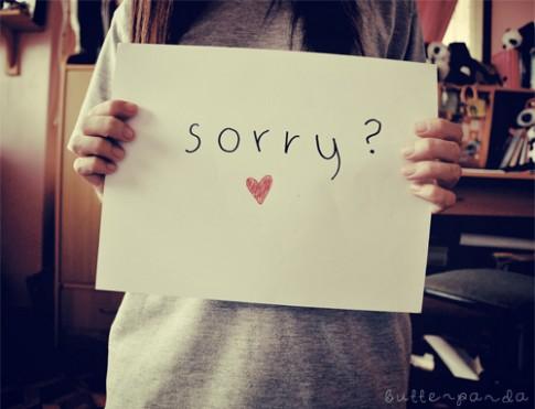 Đừng xin lỗi, khi anh chia tay em...