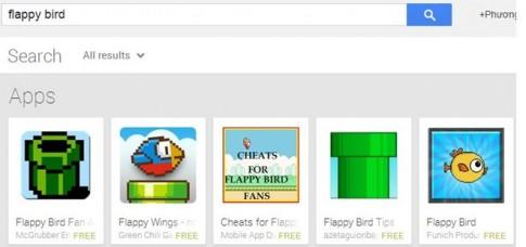 Flappy Bird bị xóa, Google được lợi?