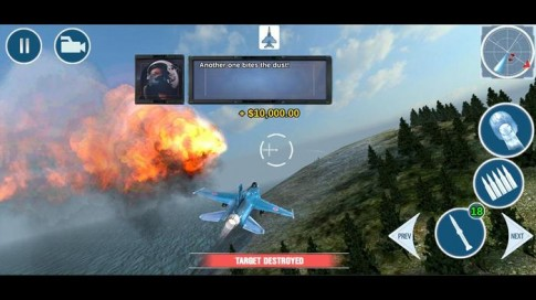 FoxOne - Tựa game không chiến hấp dẫn trên mobile