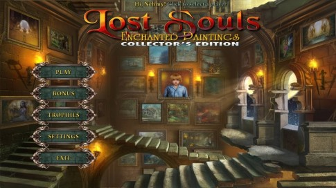 Game Free hom nay Lost Souls-Enchanted Painting