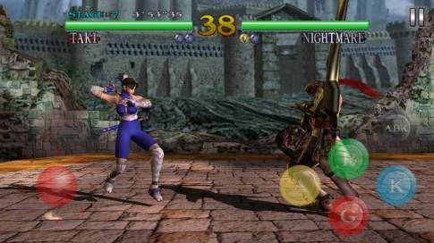 Game Soulcalibur - Siêu phẩm đối kháng trên mobile