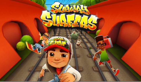 Game Subway Surfers - Trò chơi lướt ván trên đường ray dành cho máy tính