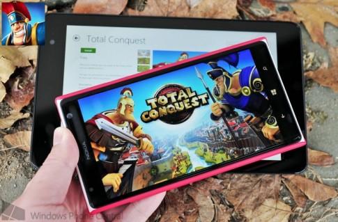 Gameloft chính thức đưa Total Conquest lên Windows Phone 8 và Windows 8/RT
