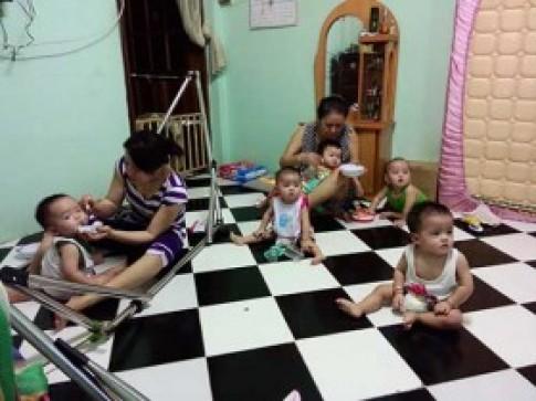 Gặp lại gia đình sinh 5 hy hữu tại SG