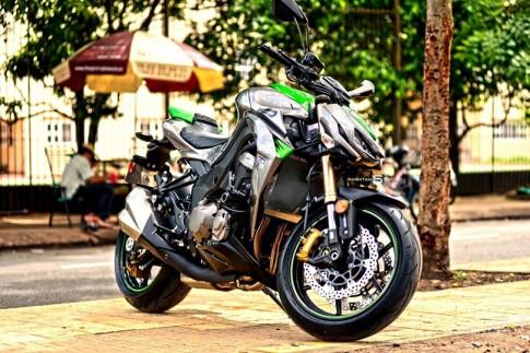 Giá Kawasaki Z1000 2014 cao hơn đời cũ tầm 3000 USD