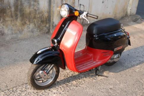 Giorno scooter Honda phong cách Vespa ở Sài Gòn