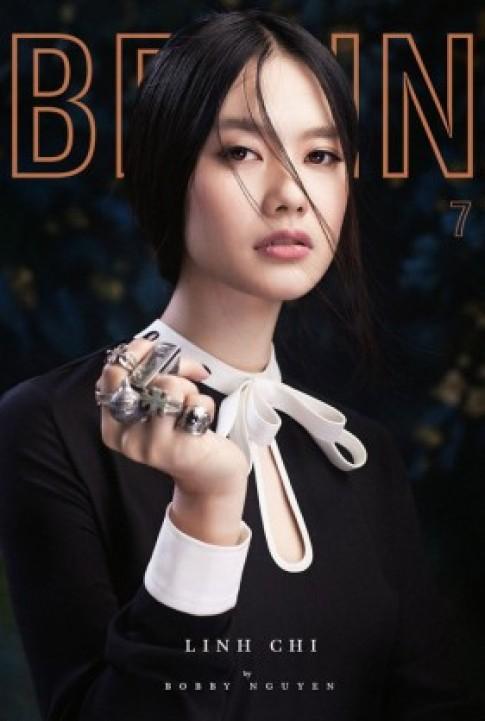 Góc ảnh lạ của á hậu Linh Chi