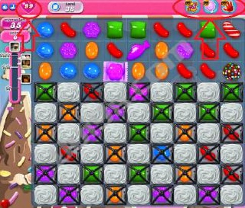 Hack Candy Crush Saga tren Facebook