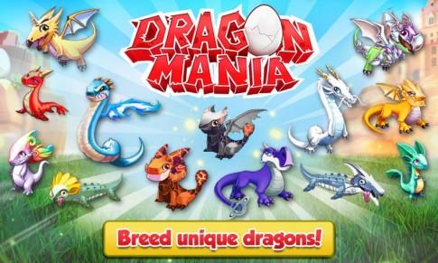 Hack game Dragon Mania full coin và gem trên Android