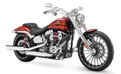 Harley-Davidson Breakout bị hỏng đồng hồ nhiên liệu sẽ được thu hồi